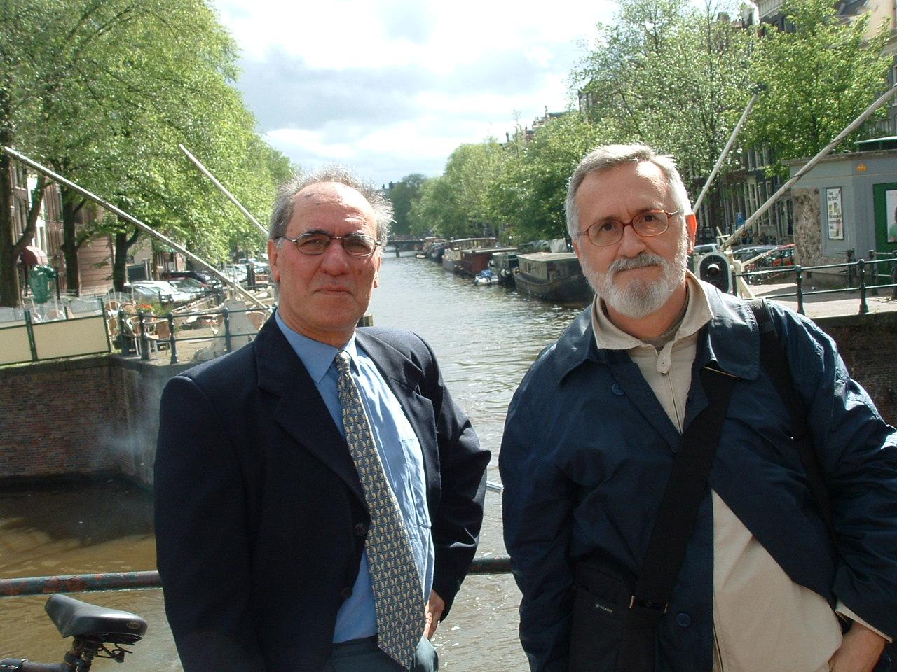 Fernando Venâncio e Xavier Alcalá em Bruxelas